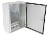 Steel Door Enclosure open