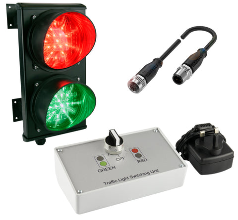 Traffic Control System Kit (wired version, plug and play)