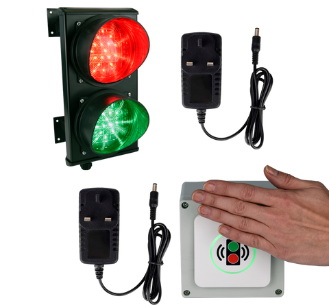 Non-Contact Traffic Control System Kit (plug and play)