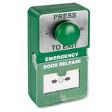 Combined Emergency Door Release Button (Resettable)