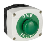 gate release button 3/4 view