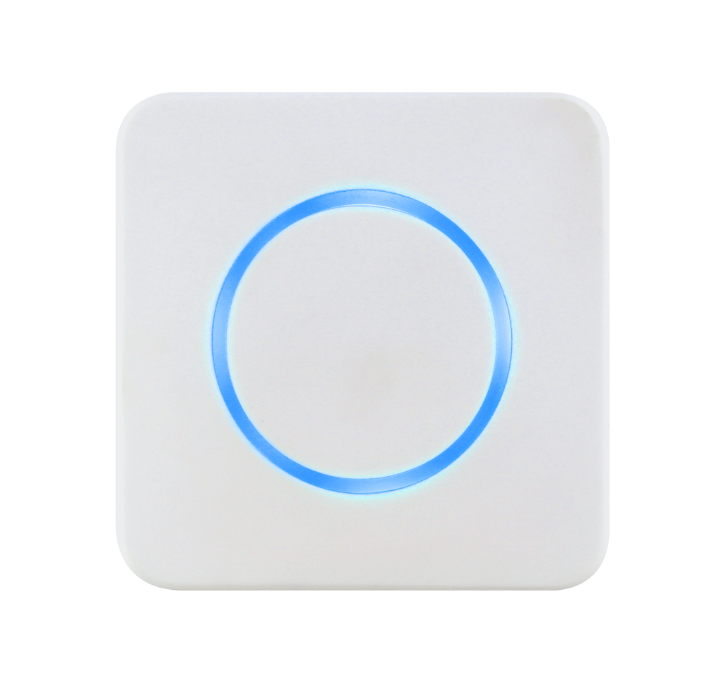 CleanSwitch - Hygienic Contactless Switch (24 VAC/DC) - White with Optical Feedback