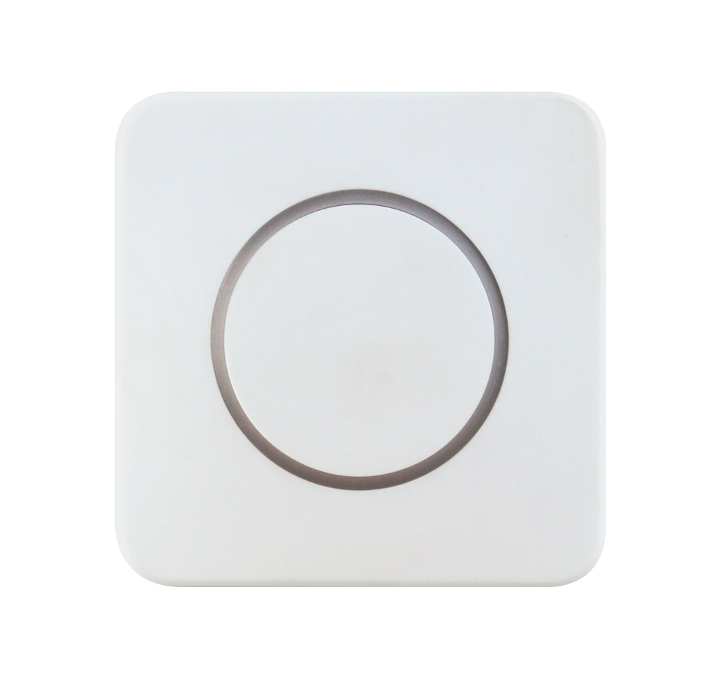 CleanSwitch - Hygienic Contactless Switch (24 VAC/DC) - Blank White