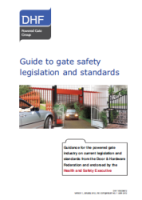 Guide to gate safety legislation and standards