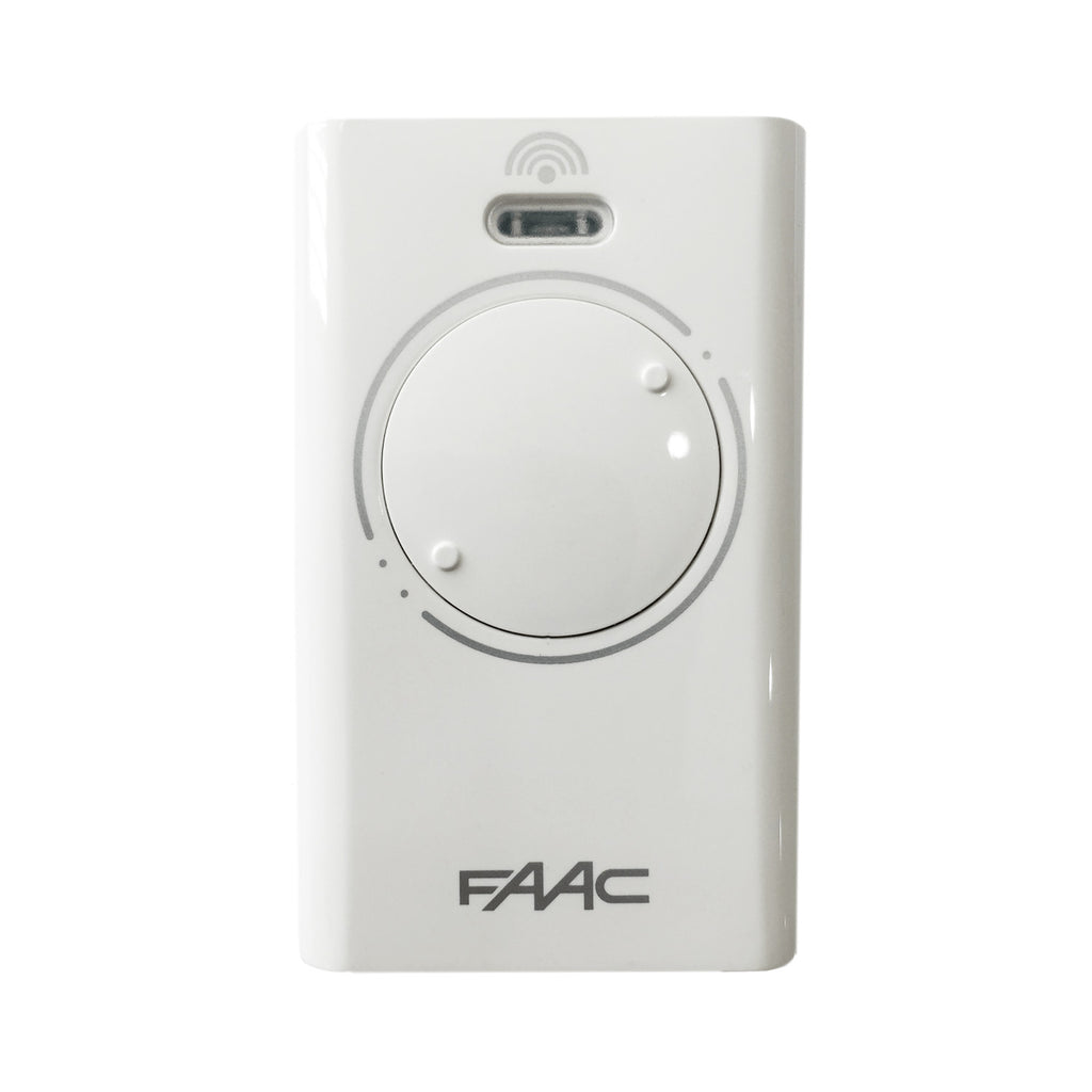 FAAC XT2 433SLH LR - White Gate Remote - 2 channel