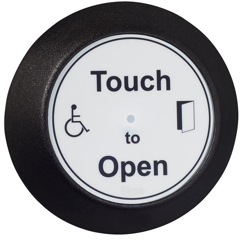 touch to open button