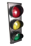 3 colour LED traffic light