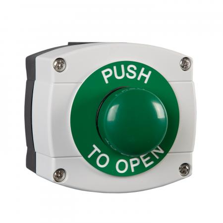 Push to Open weatherproof domed button