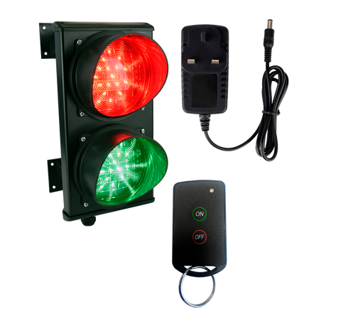 Traffic Light Remote Key Fob System (wireless, plug and play)