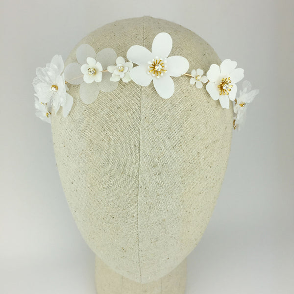 DAISY Spring Flower Bridal Alice Band - Fifth & Spring