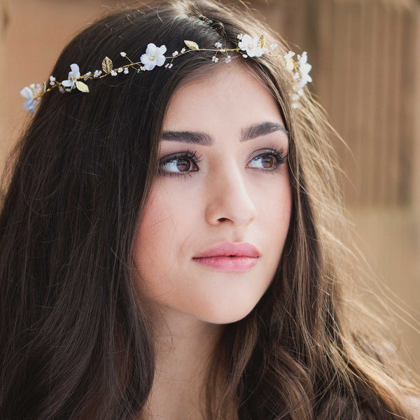 JASMINE  Beautifully Beaded Boho Hair Vine