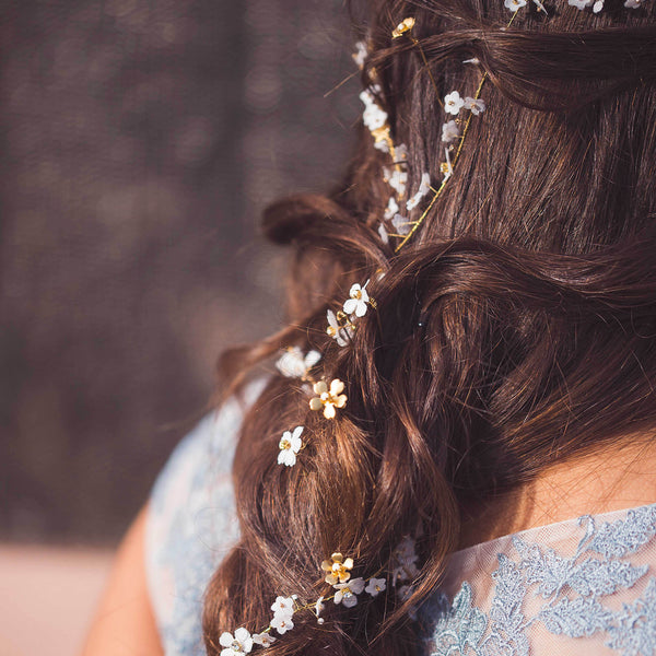 OLIVE Delicately Dainty Bridal Hair Vine