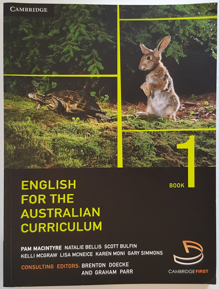English for the Australian Curriculum - Book 1