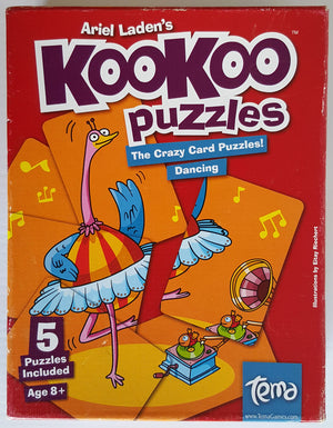 Kookoo Crazy Card Puzzles! Dancing (Ages 8+)