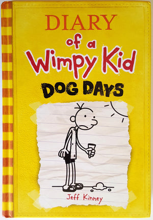 Diary of a Wimpy Kid :  Book 4 - Dog Days (Hardcover)