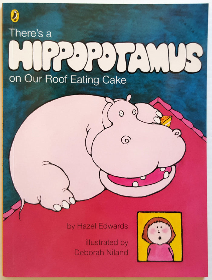 There's a Hippopotamus on Our Roof Eating Cake (Kids Mini Book)