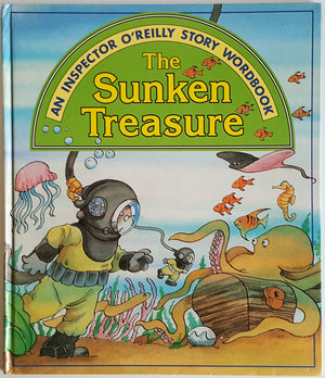 An Inspector O'Reilly Story Wordbook - The Sunken Treasure