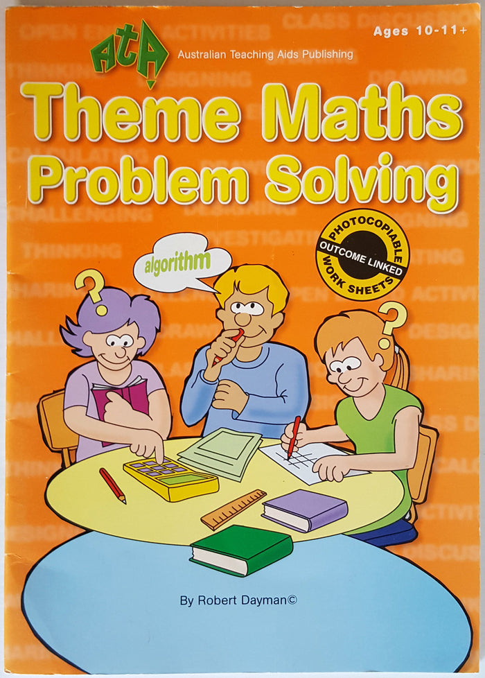 Theme Maths Problem Solving (Ages 10+)
