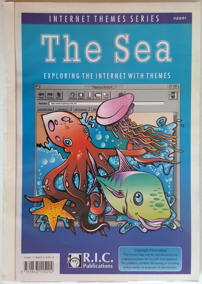 Internet Themes Series :  The Sea (11+)