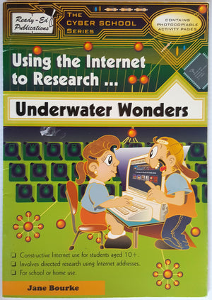 Using the Internet to Research ...  Underwater Wonders (Ages 10+)