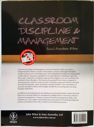 Classroom Discipline & Management (2nd Australasian Edition)