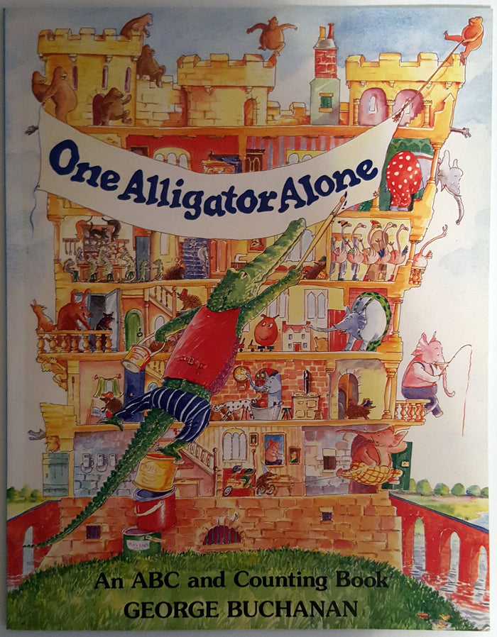 One Alligator Alone : An ABC and Counting Book