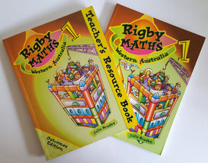 Rigby Maths Western Australia Teachers Resource Book & Students Book - Year 1