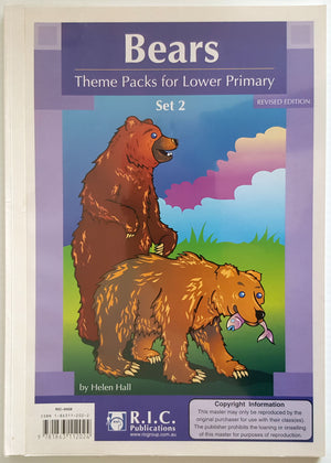 Bears : Theme Packs for Lower Primary  (Set 2)