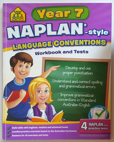 NAPLAN - Year 7 Language Conventions