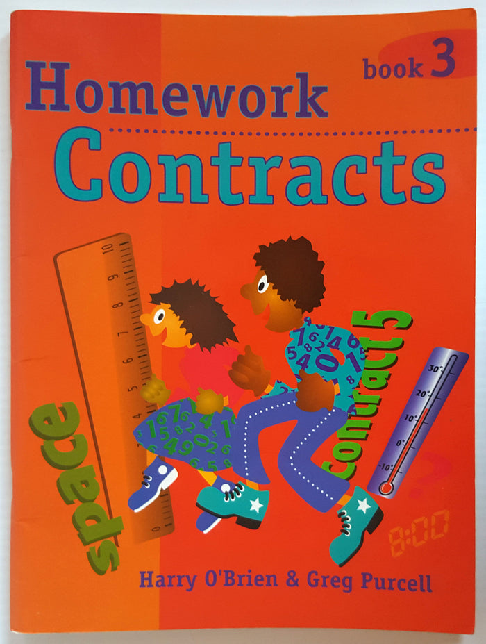 Homework Contracts - Book 3 (Yrs 3/4)