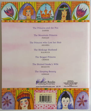 The Barefoot Book of Princesses (Includes DVD)