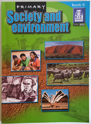 Society and Environment - Book E (Ages 9-10)