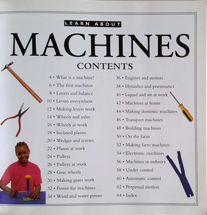 Learn About - Machines