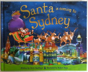 Santa is coming to Sydney