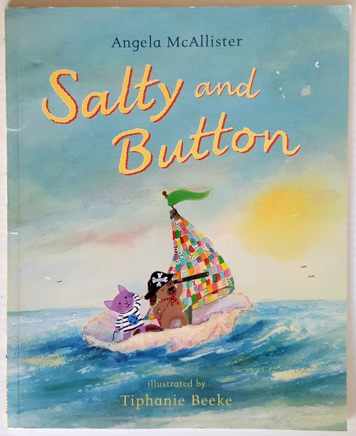 Salty and Button
