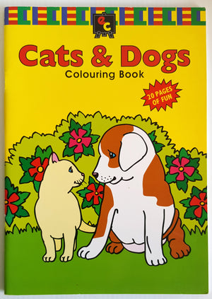 Cats & Dogs Colouring Book