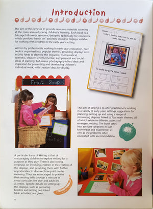 Writing : Early Years Activities to Promote Emergent Writing