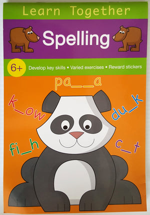 Learn Together Pads: Spelling (Ages 6+)
