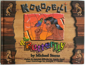 Kokopelli and the Butterfly