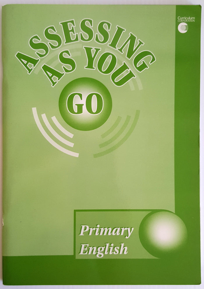 Assessing As You Go : Primary English