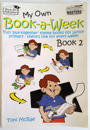 My Own Book-a-Week : Book 2 (Ages 6-9)