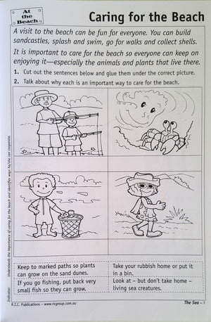The Sea:  A Cross-Curricular Theme (Lower Primary)