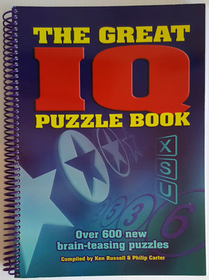 The Great IQ Puzzle Book