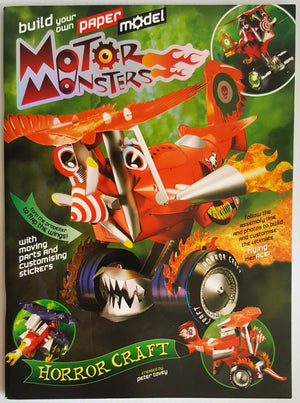 Build Your Own Paper Model 'Motor Monster' - Horror Craft