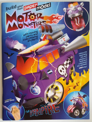 Build Your Own Paper Model 'Motor Monster' - The Vampire