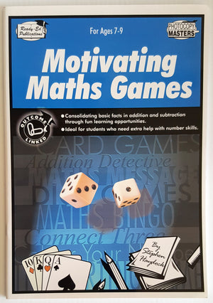 Motivating Maths Games (Ages 7-9)