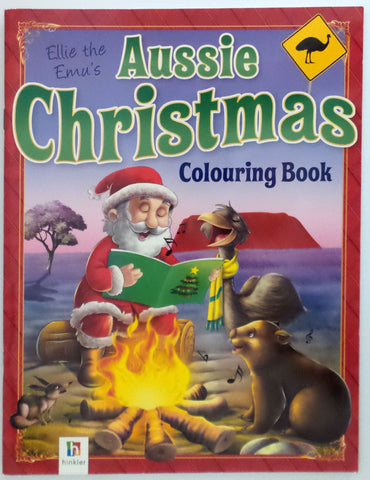 Ellie the Emu's Aussie Christmas Colouring Book