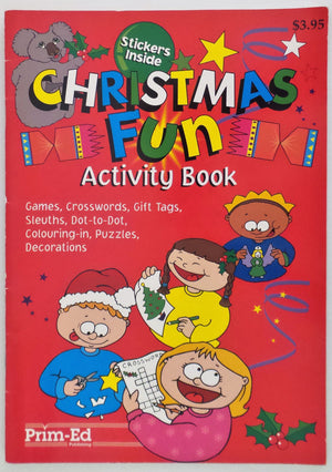 Christmas Fun : Activity Book (includes stickers)