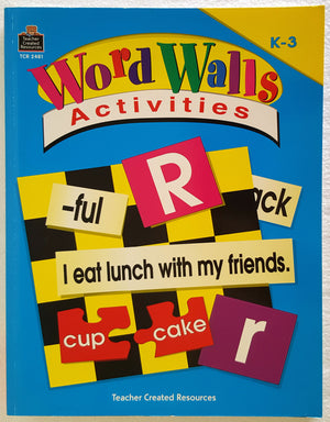 Word Walls Activities (K-3)