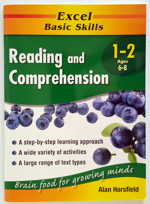 Excel Basic Skills: Reading and Comprehension  (Yrs 1-2)